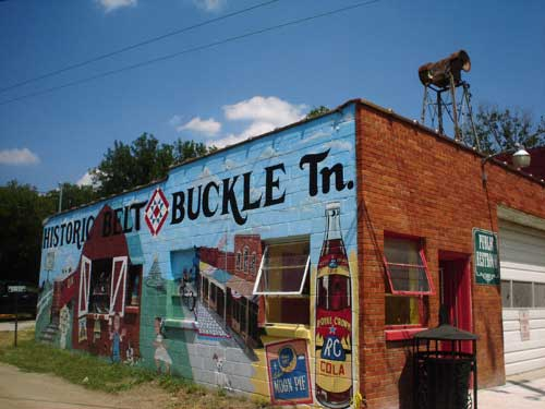 Belt Buckle Tennessee